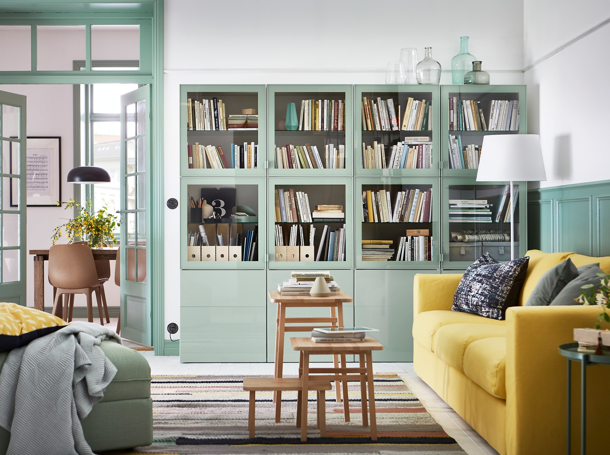 Optimise Storage Potential Of Your Living Room Ikea