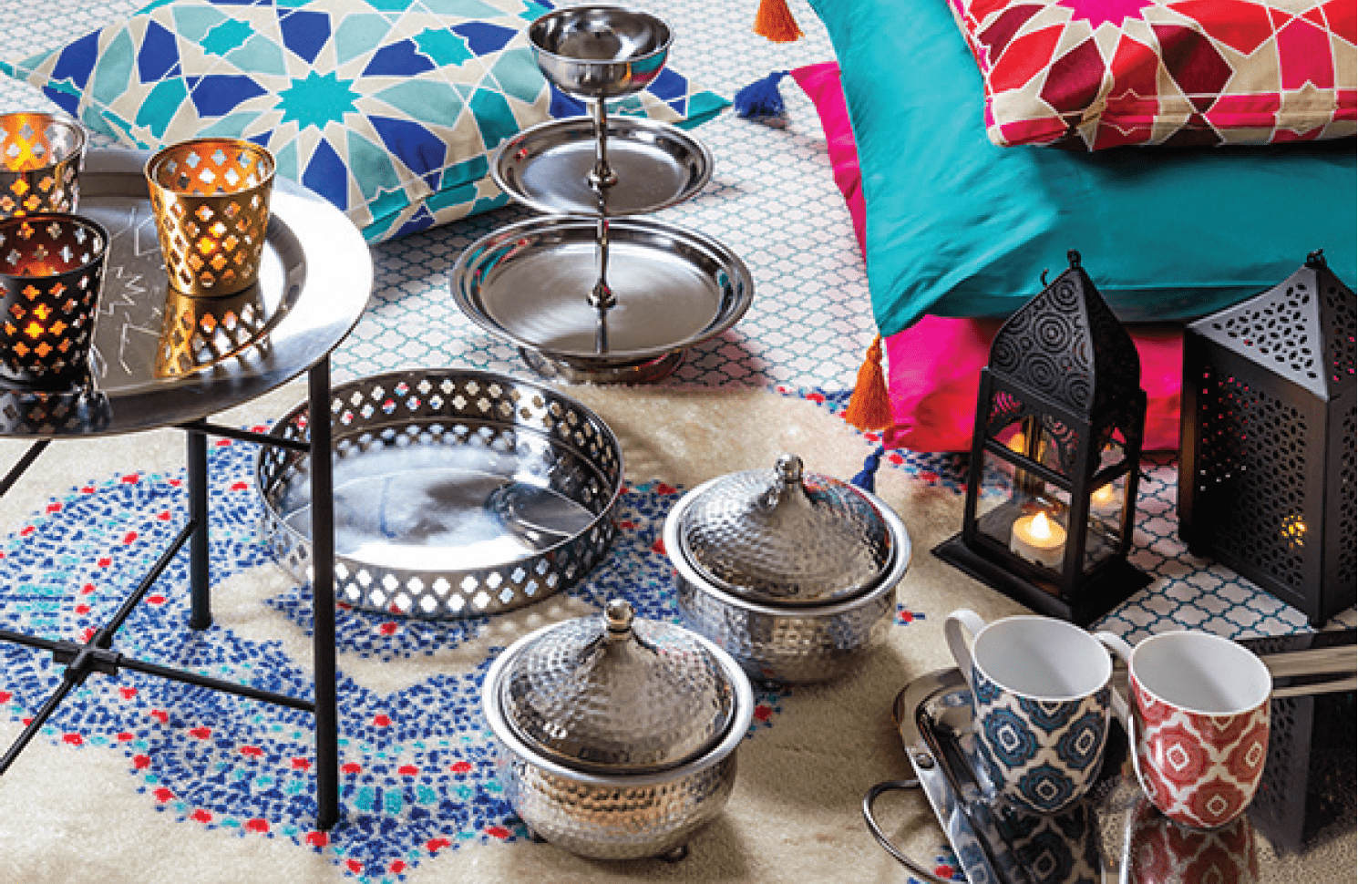 Simple Decoration Tweaks Specifically For The Holy Month Of Ramadan - IKEA Qatar