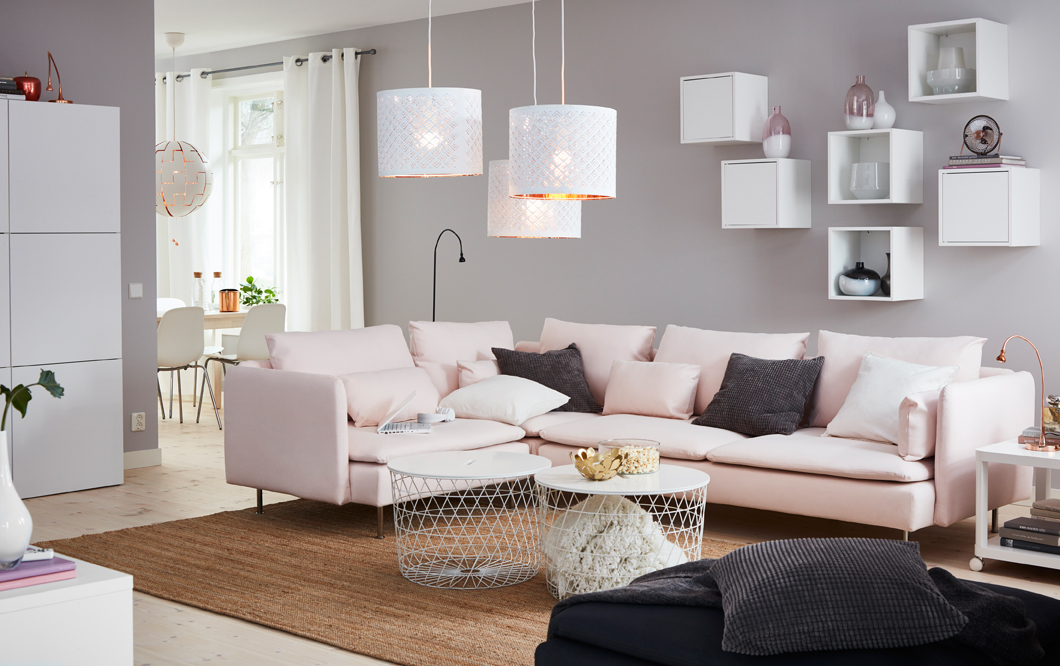 How lamp shades can light up your house - IKEA Qatar
