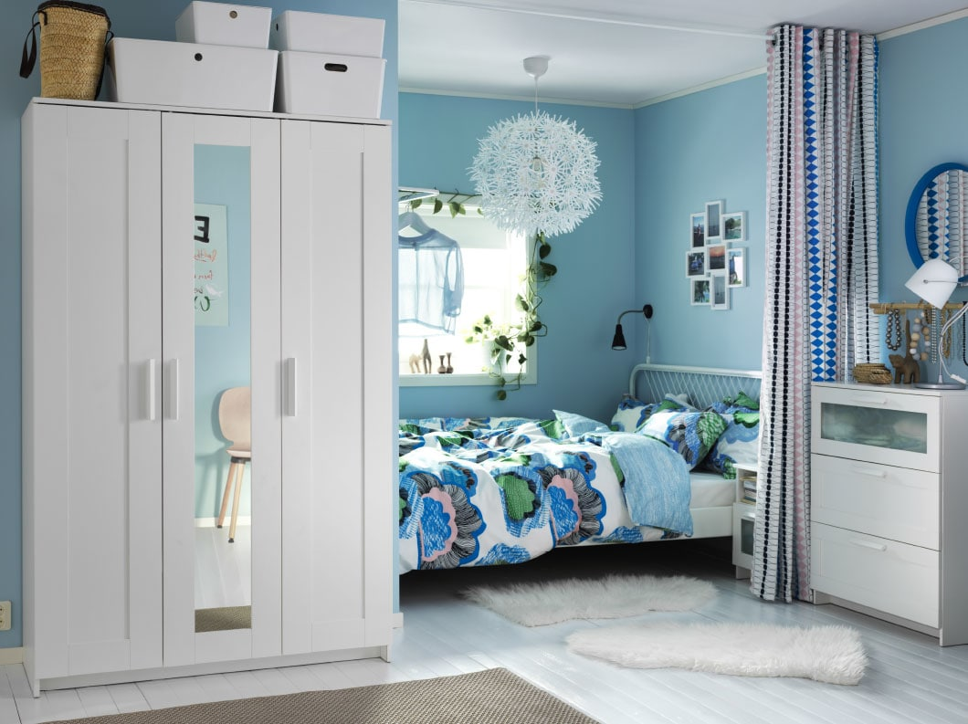 Small bedroom design ideas ikea qatar blog - How to make the most of a small bedroom ...